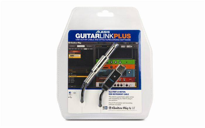 ALESIS GuitarLink Plus - kabel gitarowy USB