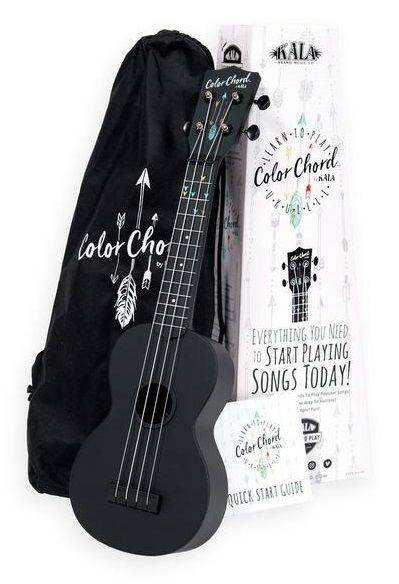 KALA Color Chord Learn To Play Set - Ukulele + pokrowiec