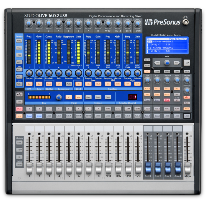 PreSonus StudioLive Mixer 16.0.2 USB - Mikser cyfrowy