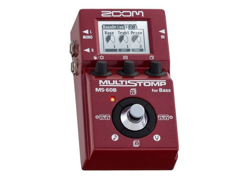 Zoom MS-60B - Multiefekt basowy